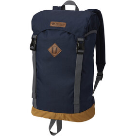 Columbia Classic Outdoor Mochila 25L, collegiate navy heather/maple/graphite/graphite lining